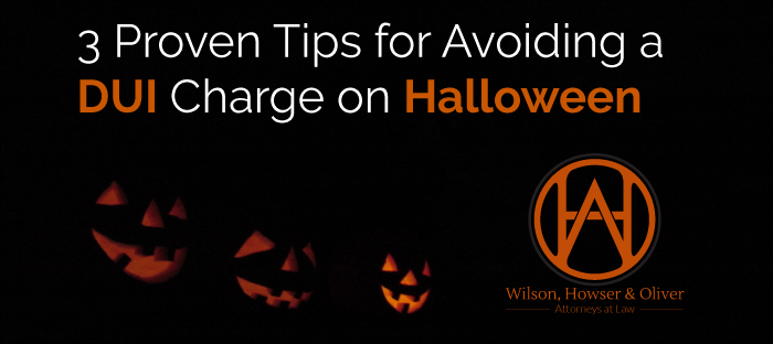 Avoid a DUI charge with assistance from Wilson, Howser, and Oliver.